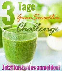 3 Tage Green Smootie Challenge